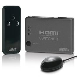 Marmitek Connect 310 fernbedienbarer 3fach-HDMI-Umschalter - 1